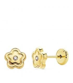 9cf94a1bf48a Pendientes de niña y Pendientes de oro para niña