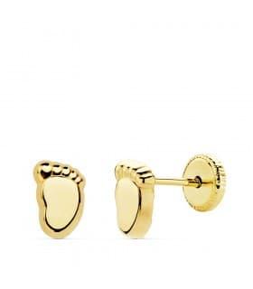 5b30f80aba85 Pendientes de niña y Pendientes de oro para niña