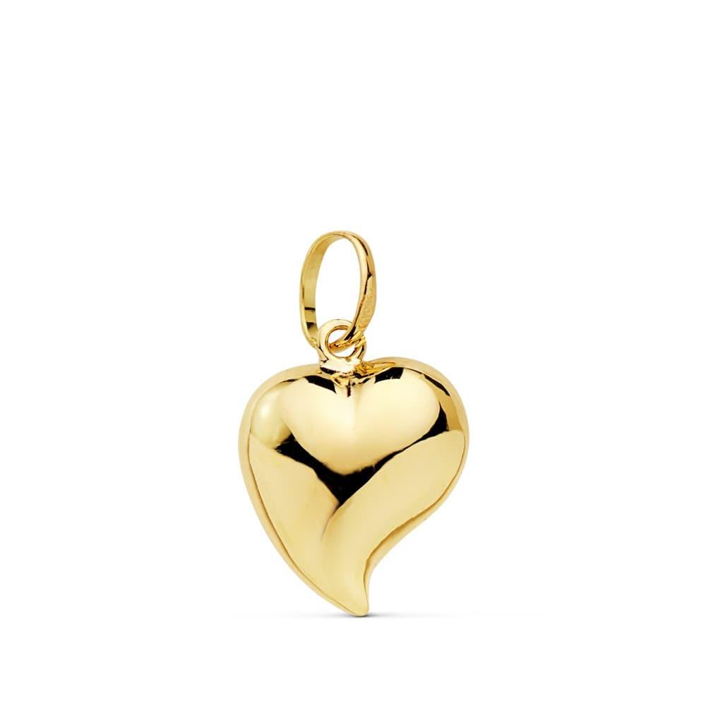 venta minorista db4a4 c43ba Colgante Corazón Oro Amarillo 18k 13 mm