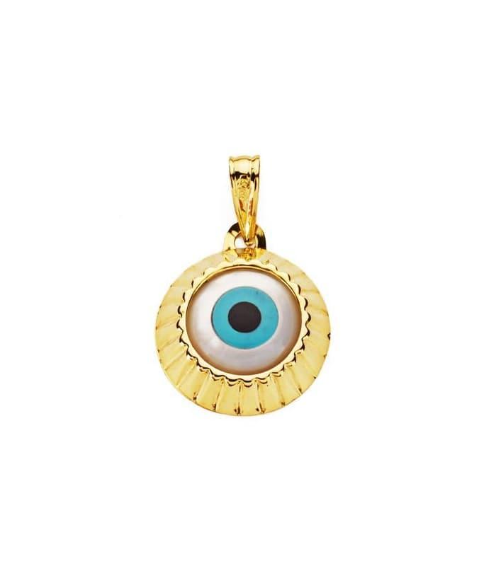Gargantilla Ojo Turco Amulette Collection Oro Amarillo 18 K 15 MM