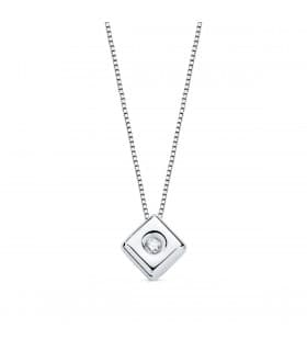Gargantilla Chérie Diamantes 0.015 Qtes. OB 18K