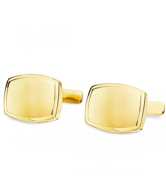 Gemelos Fabrice Oro Amarillo 18K