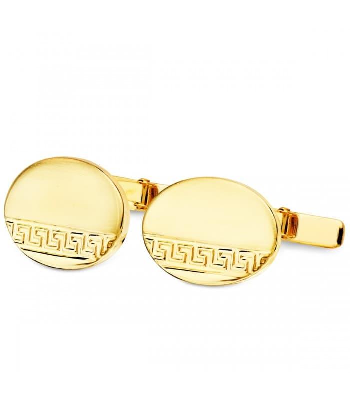 Gemelos Henri Oro Amarillo 18K