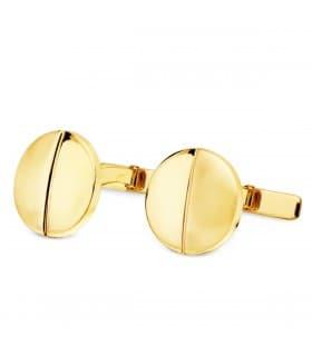 Gemelos de hombre Jacques Oro Amarillo 18K joyas para novio boda