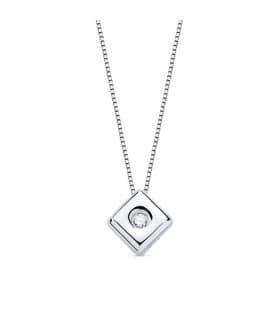 Gargantilla Chérie Diamantes 0.020 Qtes. OB 18K