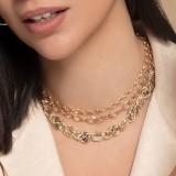 Gargantillas de oro y collares de mujer en oro de 18 quilates